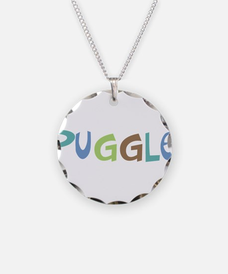 Puggle (Text) Necklace