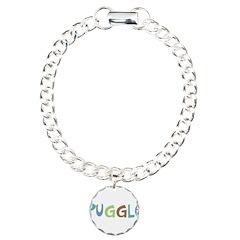 Puggle (Text) Bracelet