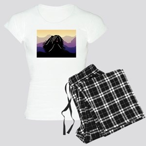 Puli Purple Mountain Women's Light Pajamas