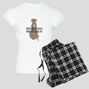 Ridgeback w/ Text Women's Light Pajamas