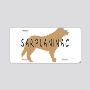 Sarplaninac Dogs Aluminum License Plate