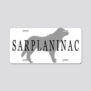 Sarplaninac Dog Aluminum License Plate