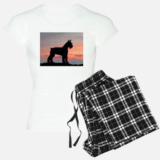 Schnauzer Sunset Pajamas