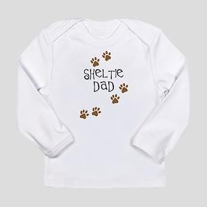 Sheltie Dad Long Sleeve Infant T-Shirt