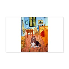 Room with a Basset Wall Decal