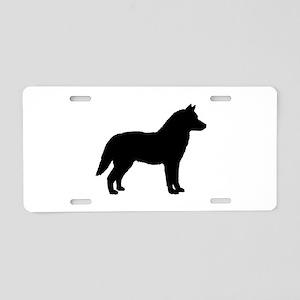 Siberian Husky Dog Breed Aluminum License Plate
