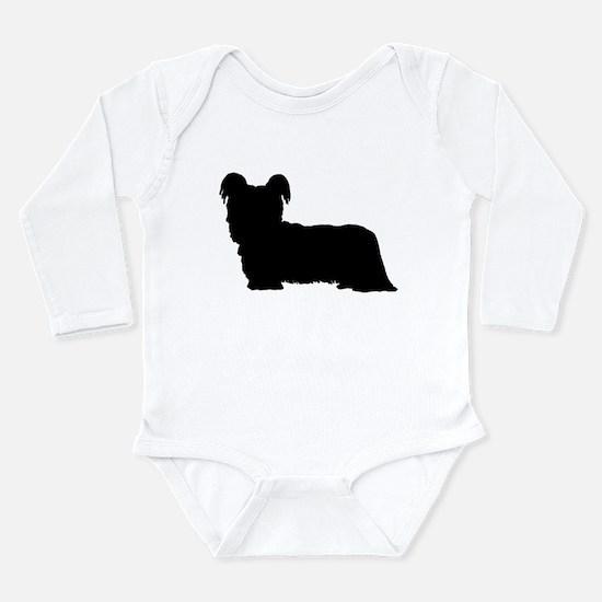 Skye Terrier Long Sleeve Infant Bodysuit
