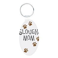 Sloughi Mom Keychains