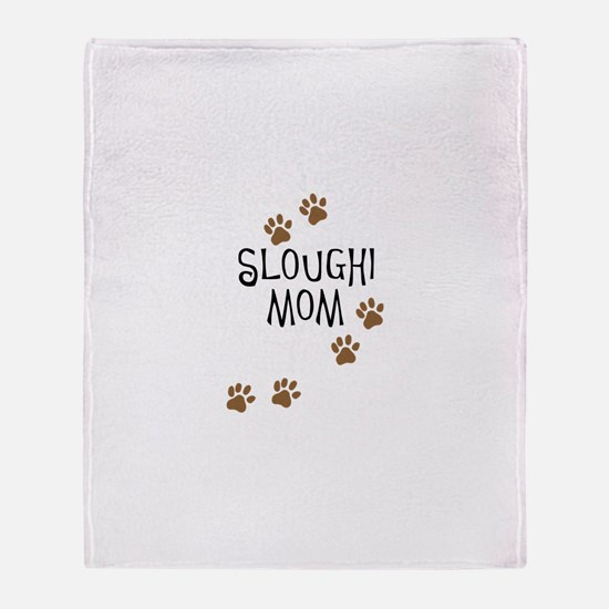 Sloughi Mom Throw Blanket