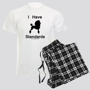 Poodle - I Have Standards Men's Light Pajamas