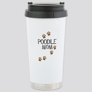Poodle Mom Stainless Steel Travel Mug