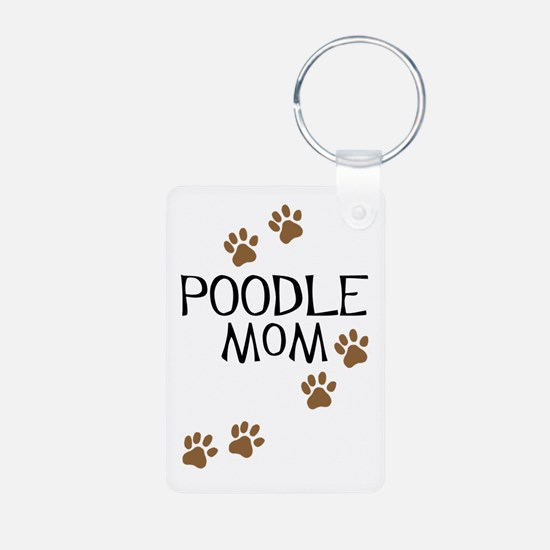 Poodle Mom Keychains