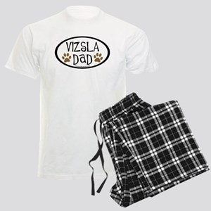 Vizsla Dad Oval Men's Light Pajamas