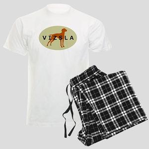 vizsla dog Men's Light Pajamas