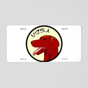 Vizsla Profile Aluminum License Plate