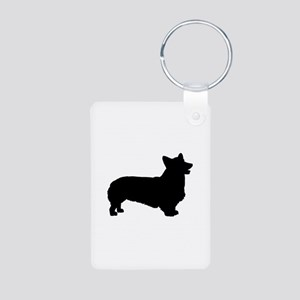 Pembroke Welsh Corgi Aluminum Photo Keychain