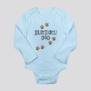 Xoloitzcuintli Dad Long Sleeve Infant Bodysuit
