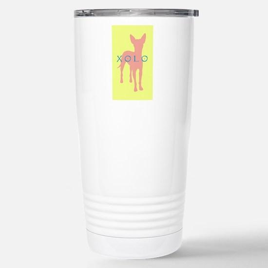 xolo dog Stainless Steel Travel Mug