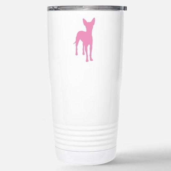 xoloitzcuintli Stainless Steel Travel Mug