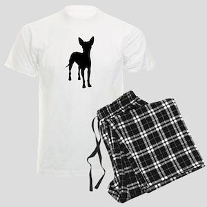 xoloitzcuintli dog Men's Light Pajamas