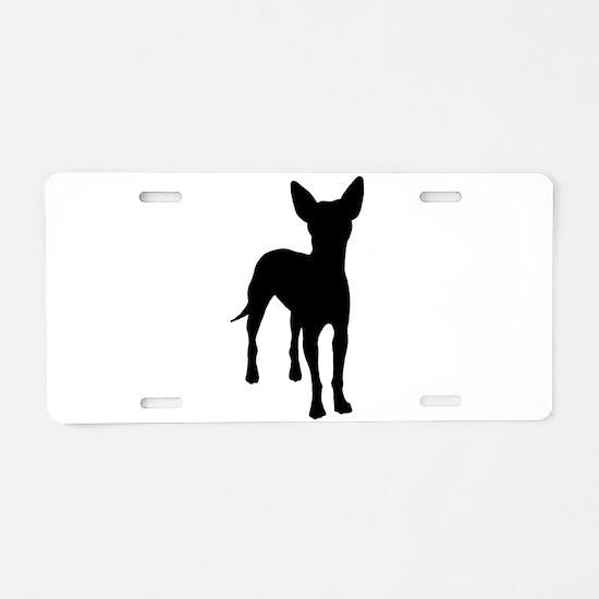 xoloitzcuintli dog Aluminum License Plate