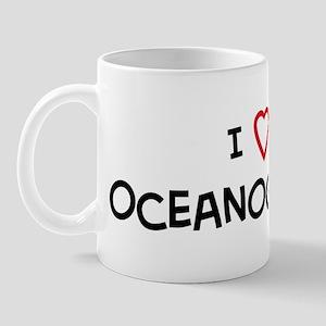 I Love Oceanographer Mug