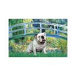 Bridge / English Bulldog (#9) 35x21 Wall Decal