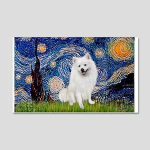 Starry / Eskimo Spitz #1 20x12 Wall Decal