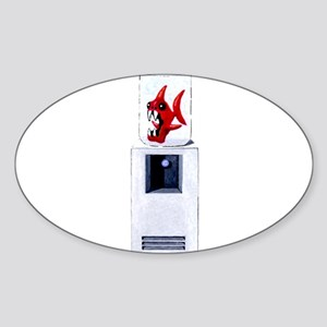 Water Cooler Oval Sticker