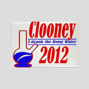 Clooney for President 2012 Rectangle Magnet