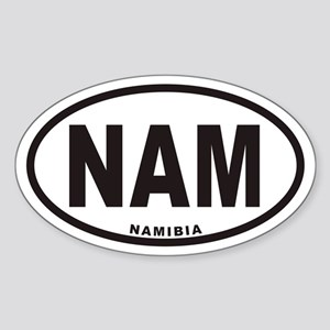 NAMIBIA NAM Euro Oval Sticker