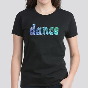 Dance Glitter Women's Dark T-Shirt