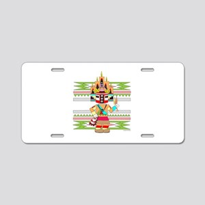 KACHINA Aluminum License Plate