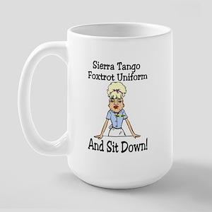 STFU! Large Mug
