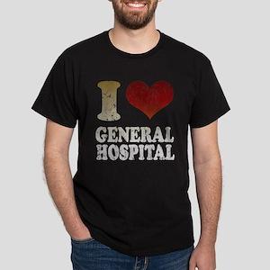 I heart General Hospital Dark T-Shirt