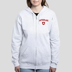Switzerland Women's Zip Hoodie