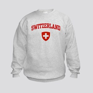 Switzerland Kids Sweatshirt