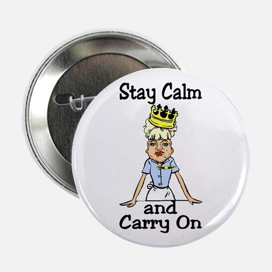 "stay calm 2.25"" Button"