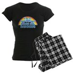 Happy Rainbows Women's Dark Pajamas