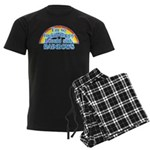 Happy Rainbows Men's Dark Pajamas