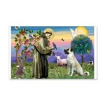 SAINT FRANCIS 22x14 Wall Peel