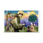 St. Francis Cairn 22x14 Wall Peel