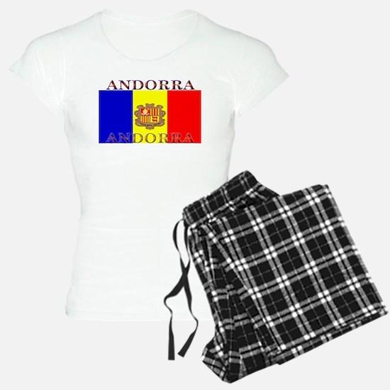 Andorra Andorran Flag Pajamas