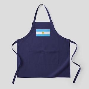 Argentina Blank Flag Apron (dark)
