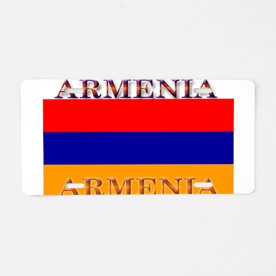 Armenia Armenian Flag Aluminum License Plate