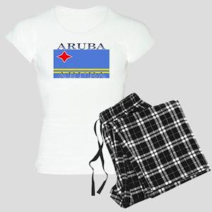 Aruba Aruban Flag Women's Light Pajamas