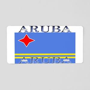 Aruba Aruban Flag Aluminum License Plate