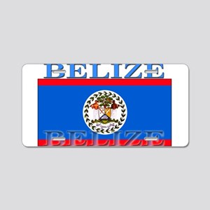 Belize Belizean Flag Aluminum License Plate