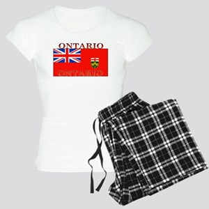 Ontario Ontarian Flag Women's Light Pajamas