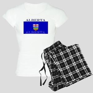 Alberta Albertan Flag Women's Light Pajamas
